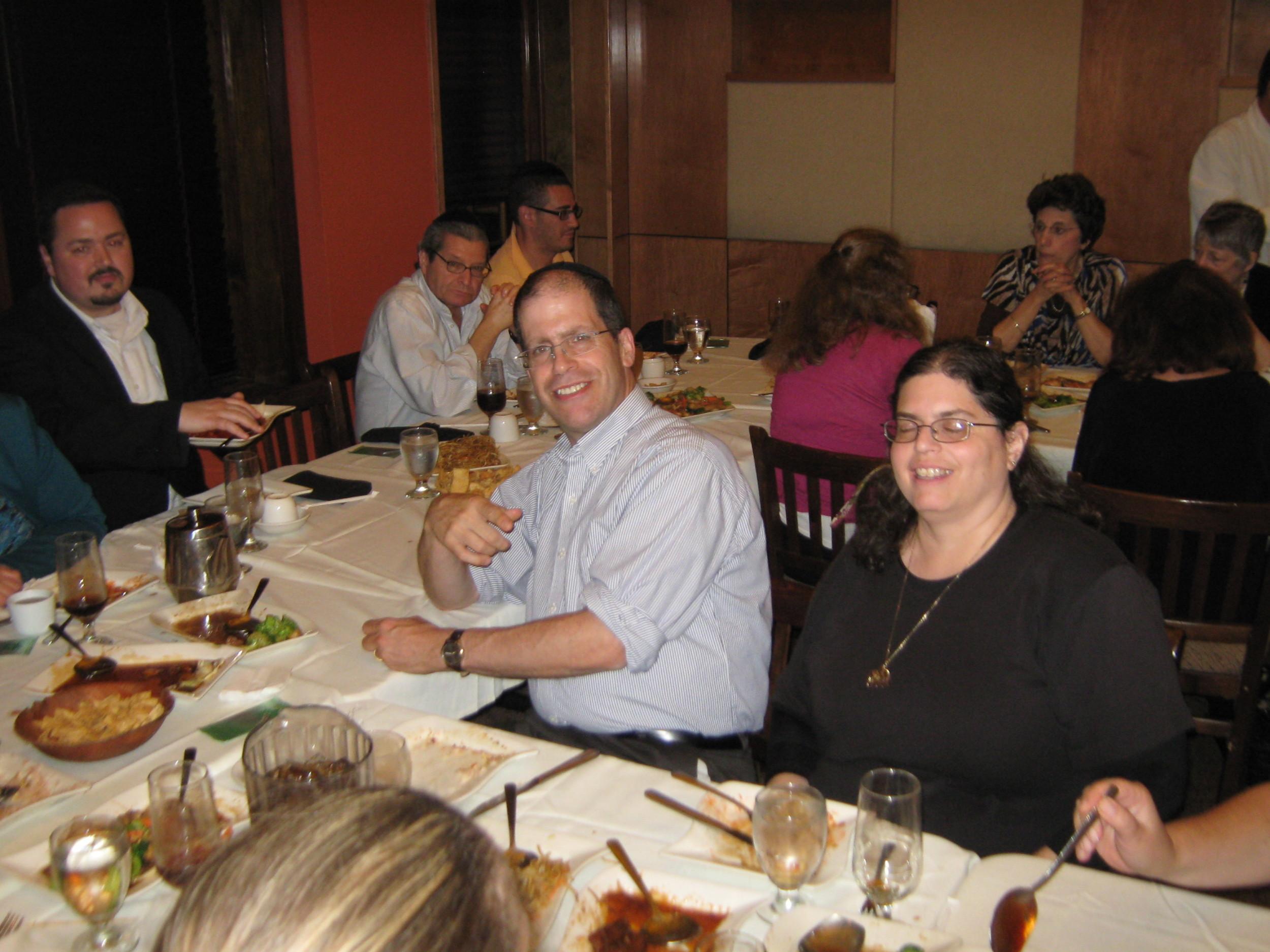 Annual Bruce Greenfield Pre-Kol Nidre Memorial Dinner August 2014