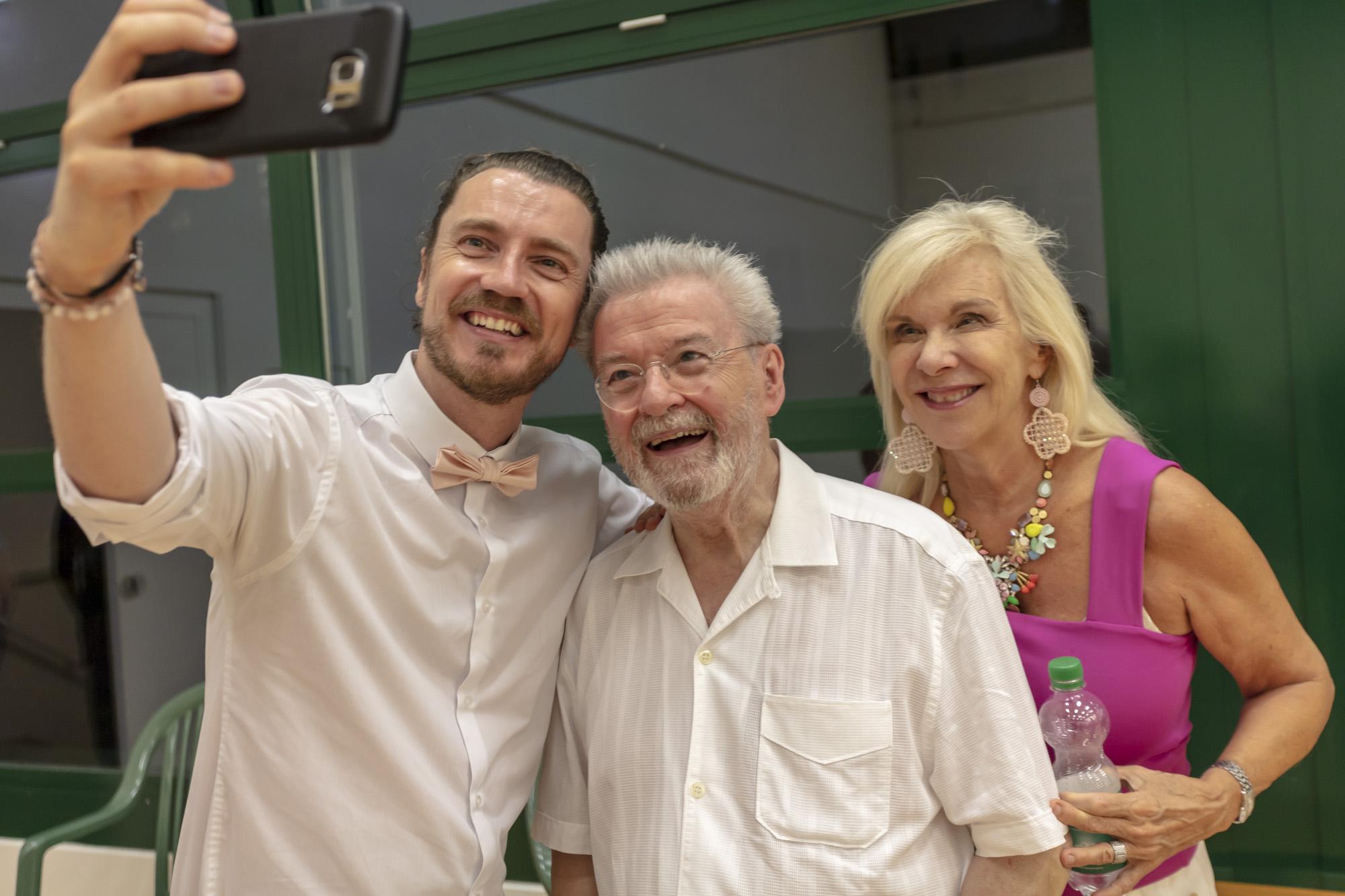 Selfie with Niall O'Riordan