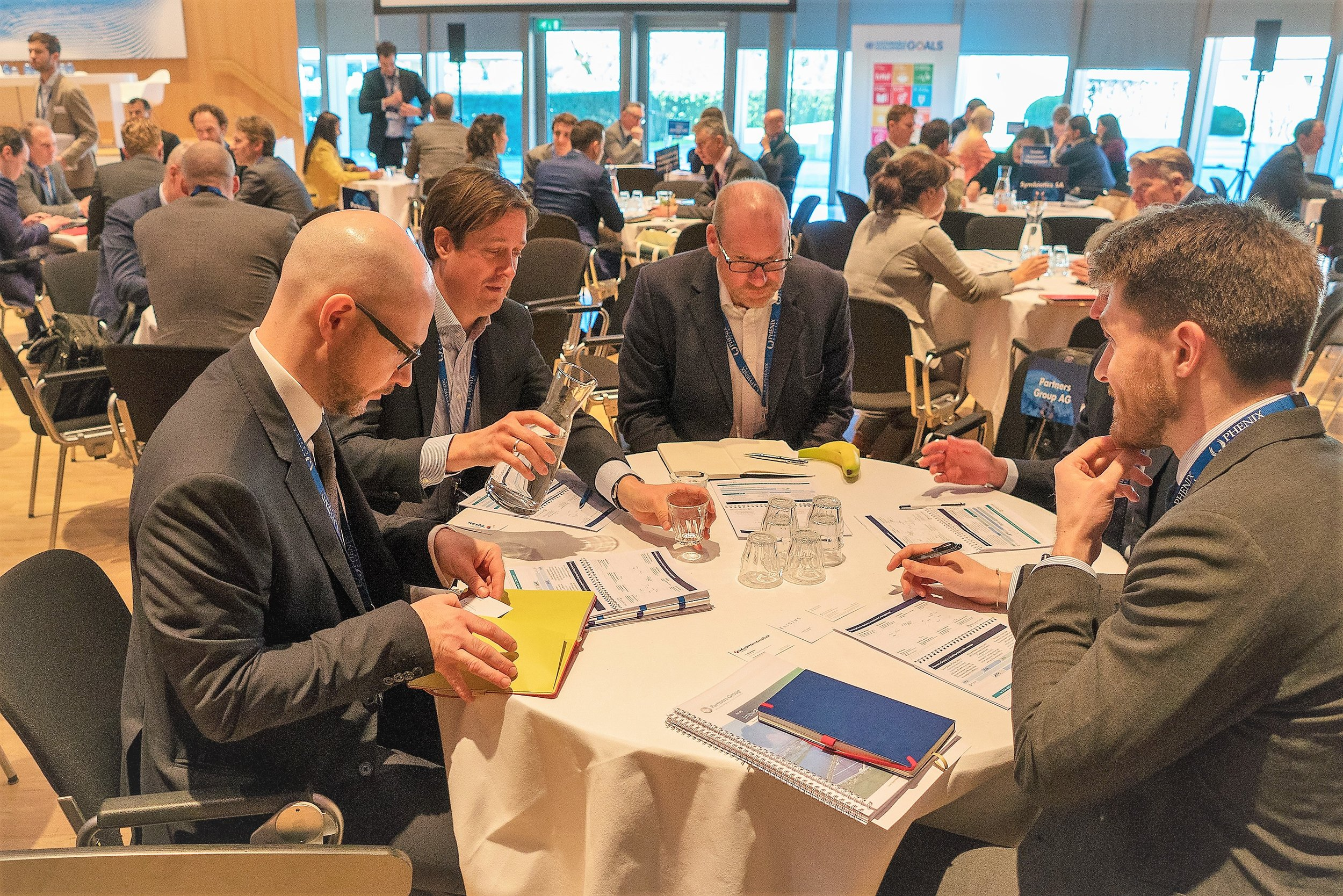 Impact Summit Europe, InvestorConnect for institutional investors in impact investing