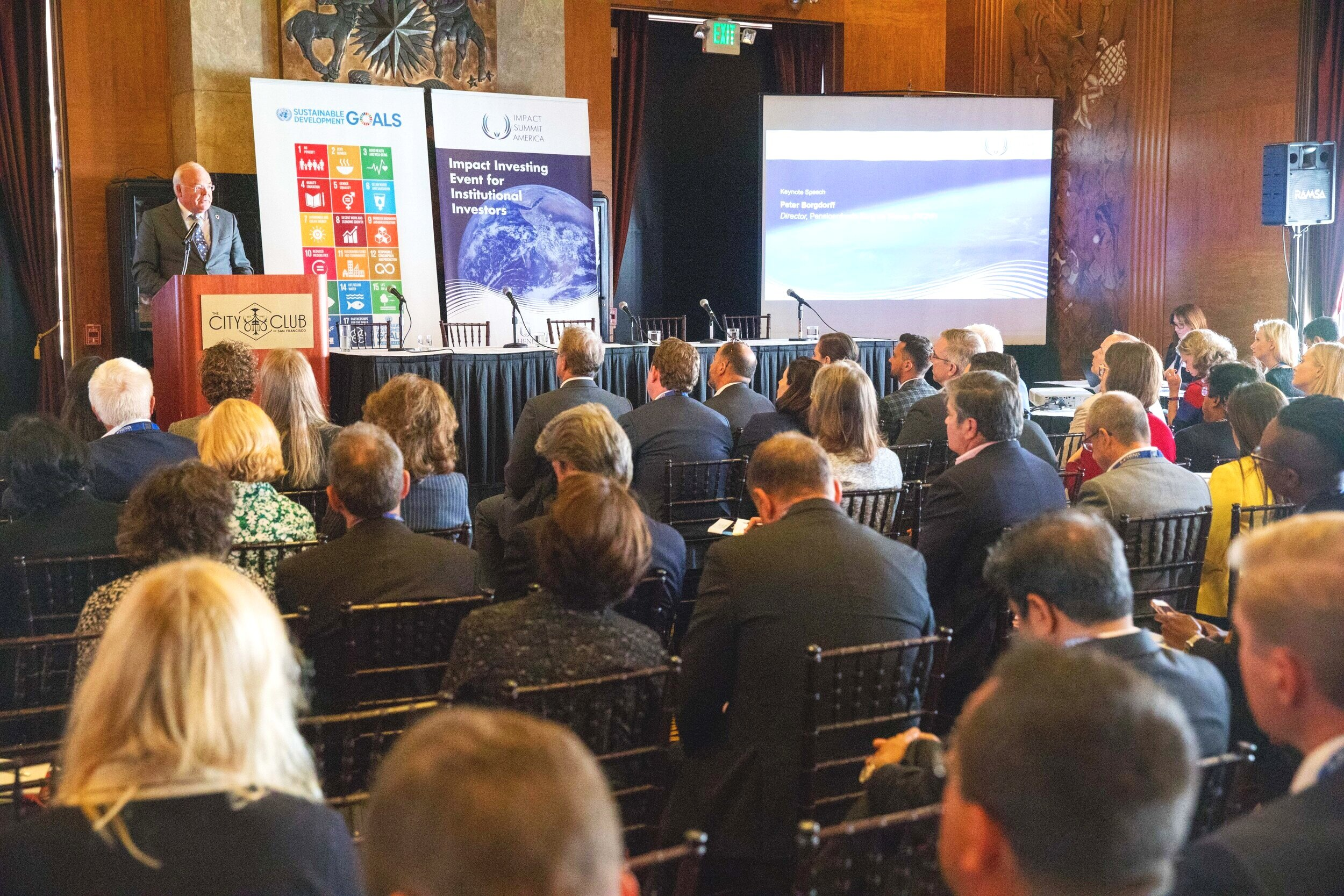 IMPACT SUMMIT AMERICA 2018  - IMPACT INVESTING EVENT FOR INSTITUTIONAL INVESTORS Tuesday 11 September 2018 | 12:00 to 19:00 PT | The City Club of San Francisco, CA