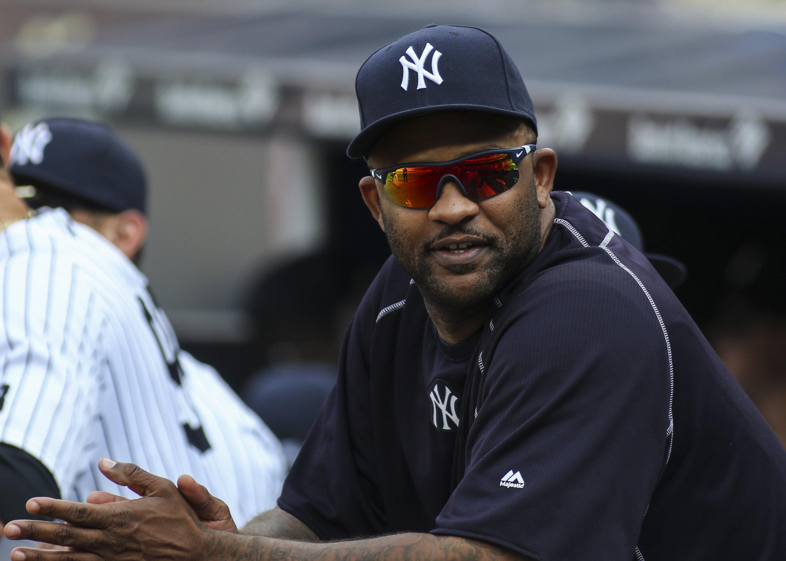 New York Yankees pitcher C.C. Sabathia.