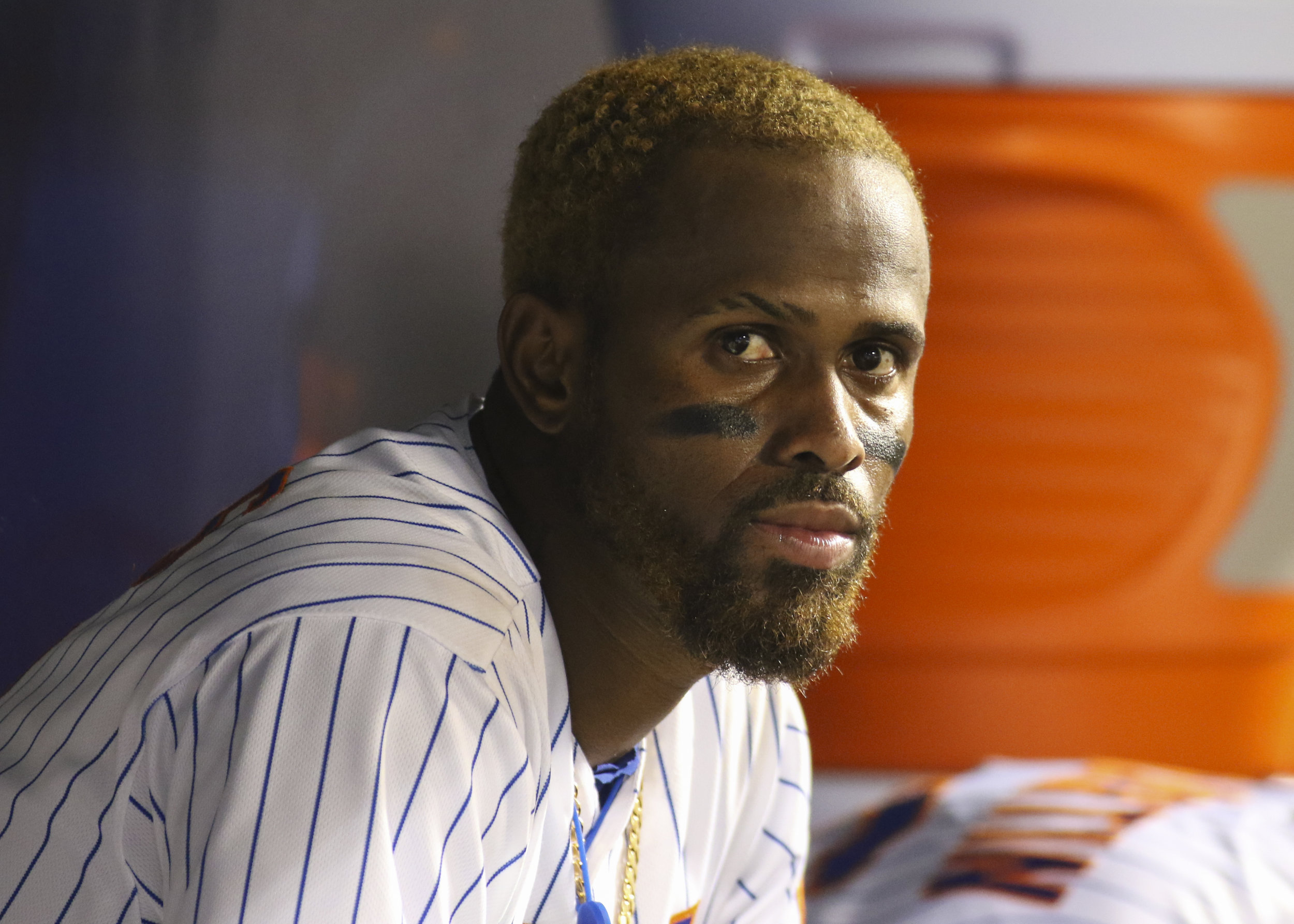 New York Mets infielder Jose Reyes.