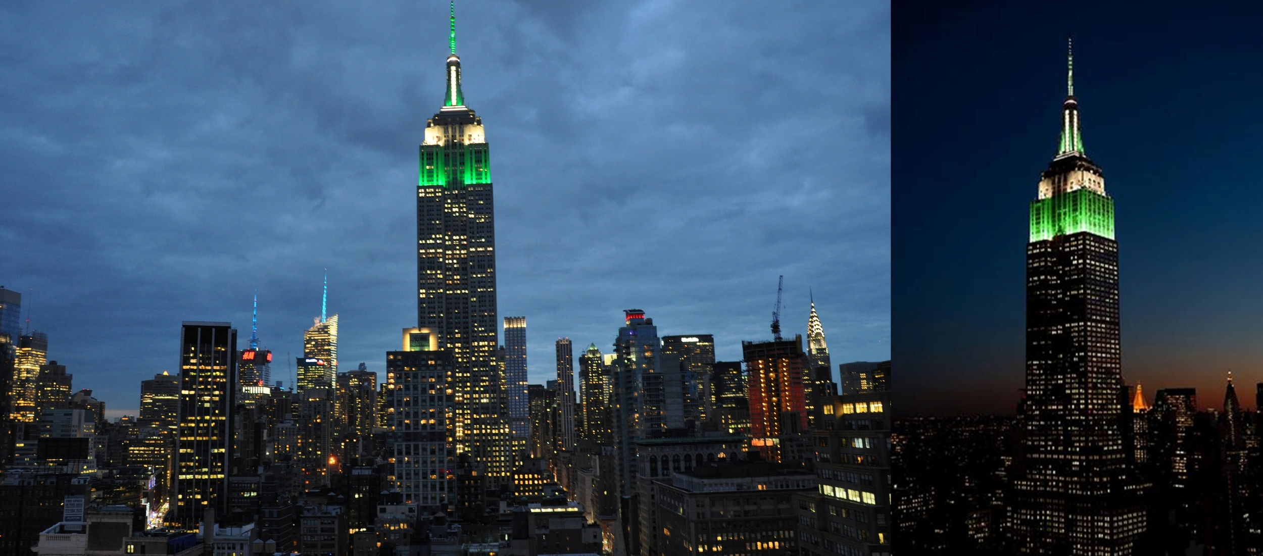 PAL 100TH     ANNIVERSARY   EMPIRE STATE BUILDING TOWER LIGHTS