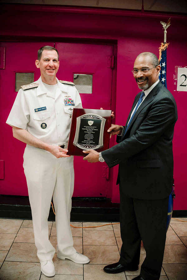 Brooklyn-born vice admiral honored by Police Athletic League image.jpg