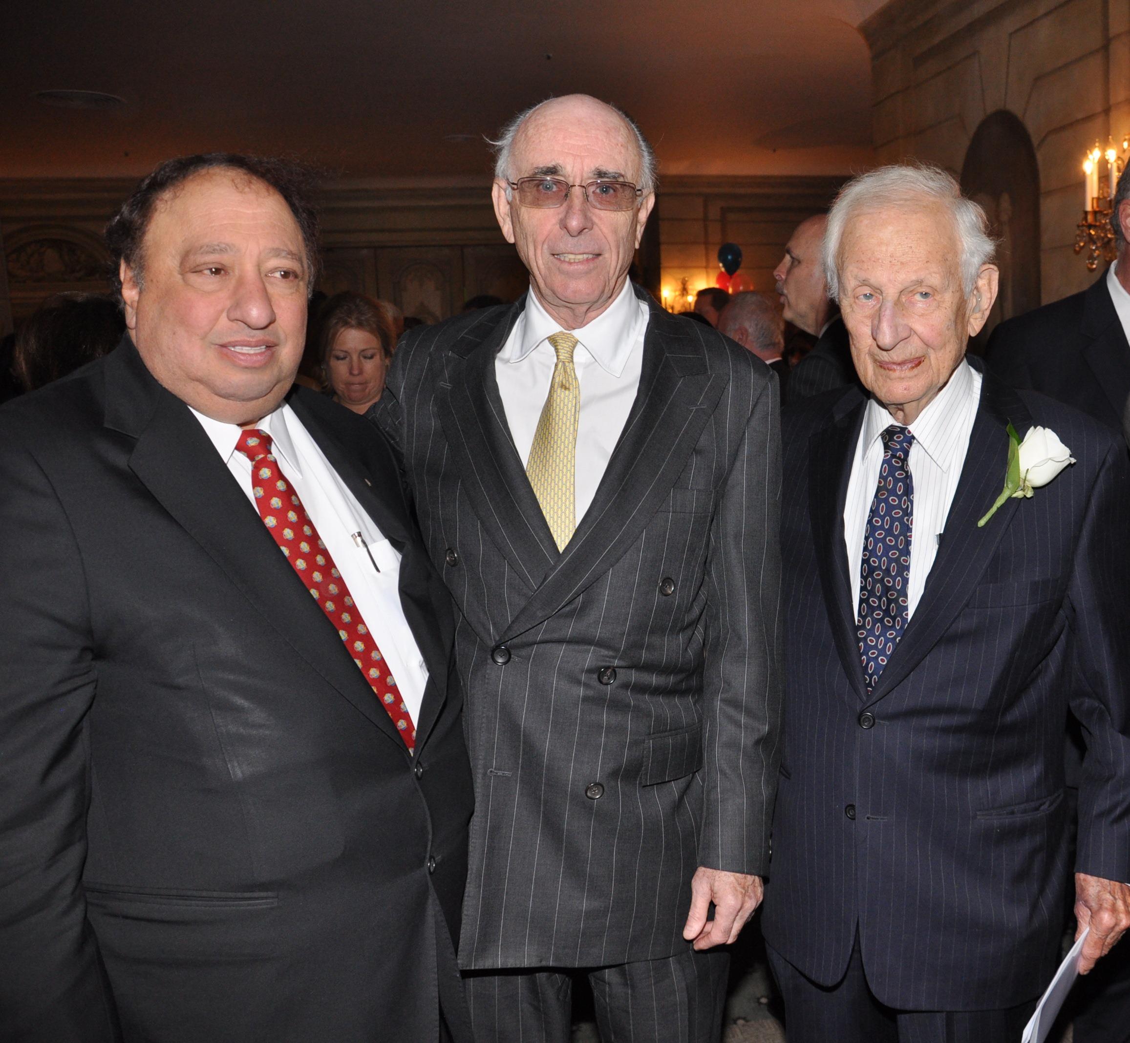 John A. Catsimatidis, Robert J. McGuire, Robert M. Morgenthau.JPG