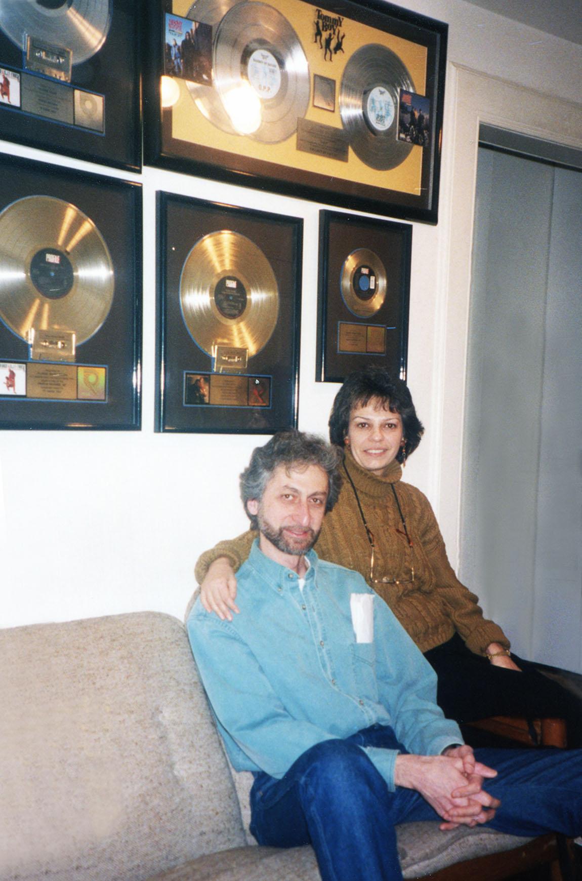 Datevik in the studiowith jazz pianist, Armen Donelian .