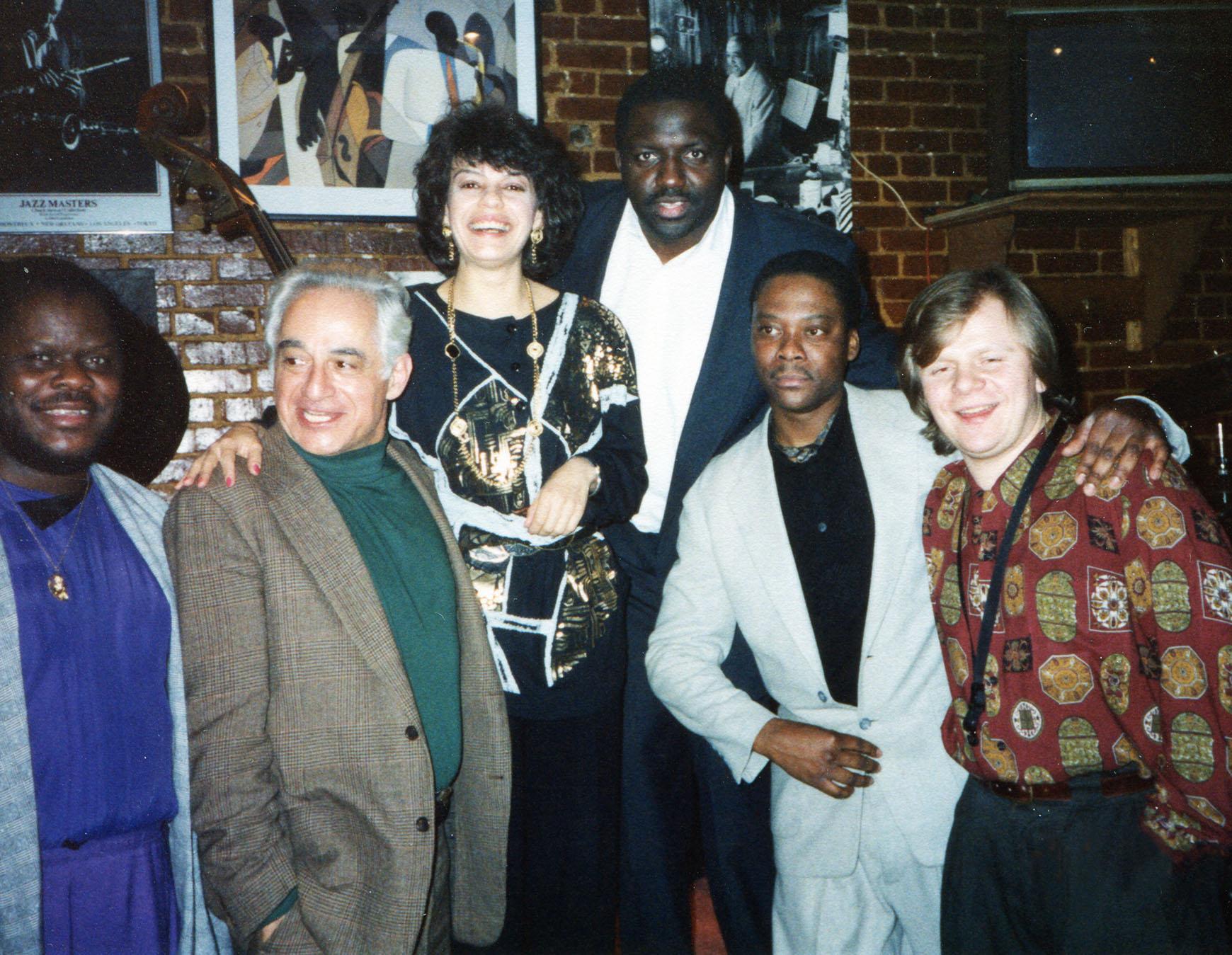 Group photo at Takota Tavern inWashington DC.