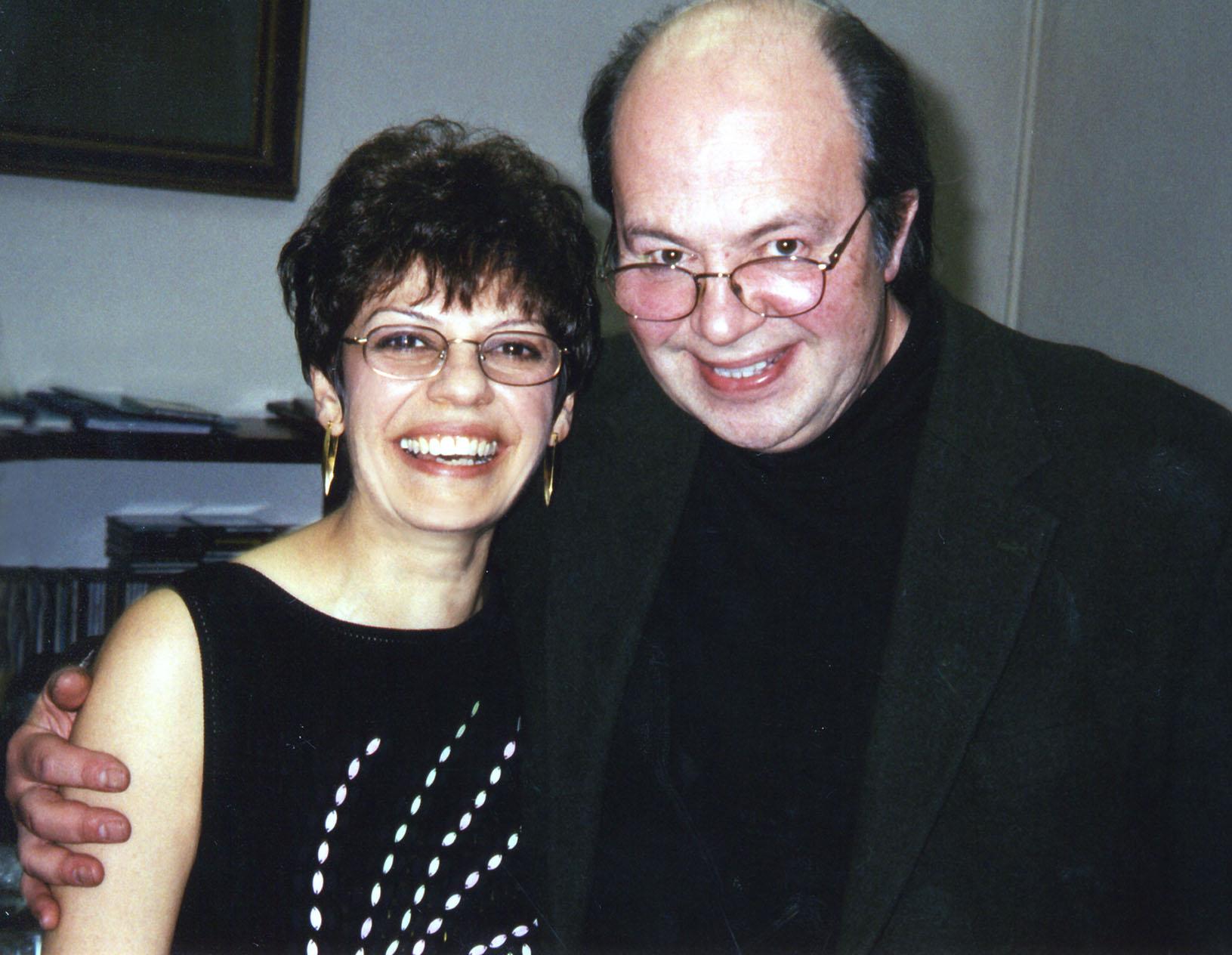 Datevik with pianist, Igor Brill, at JVL Jazz ClubinMoscow.