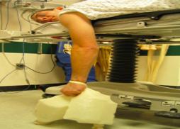 Figure     SEQ Figure \* ARABIC    1      : Stimson maneuver of shoulder reduction Image credit: http://img.medscapestatic.com/pi/meds/ckb/20/25520.png