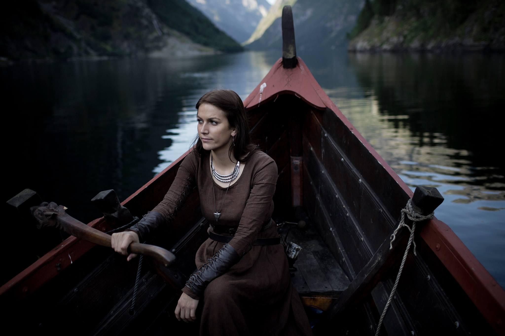 V. VIGDÍS SVEINSDÓTTIR - Norwegian academic, blogger (valkyrja.com), and Viking Age re-enactor. June—July 2016.