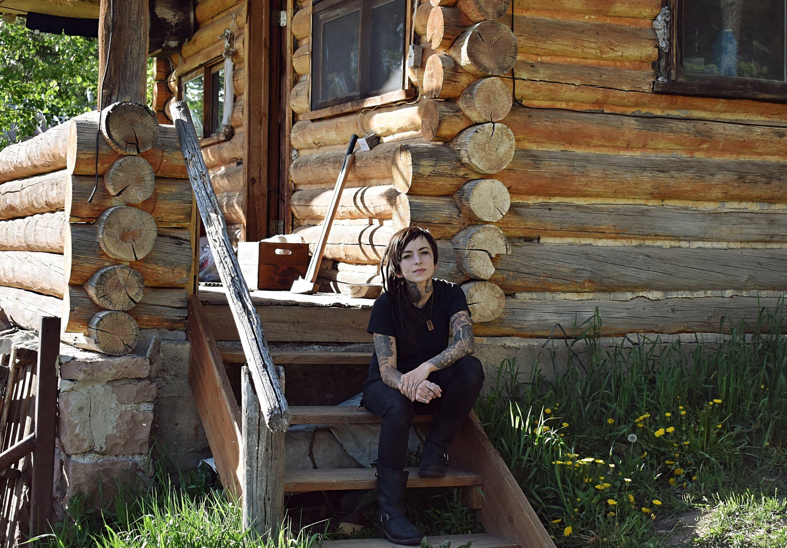 XIII. RACHEL SHELTON - Wildcrafter, bone carver, and photographer. May—June 2017.