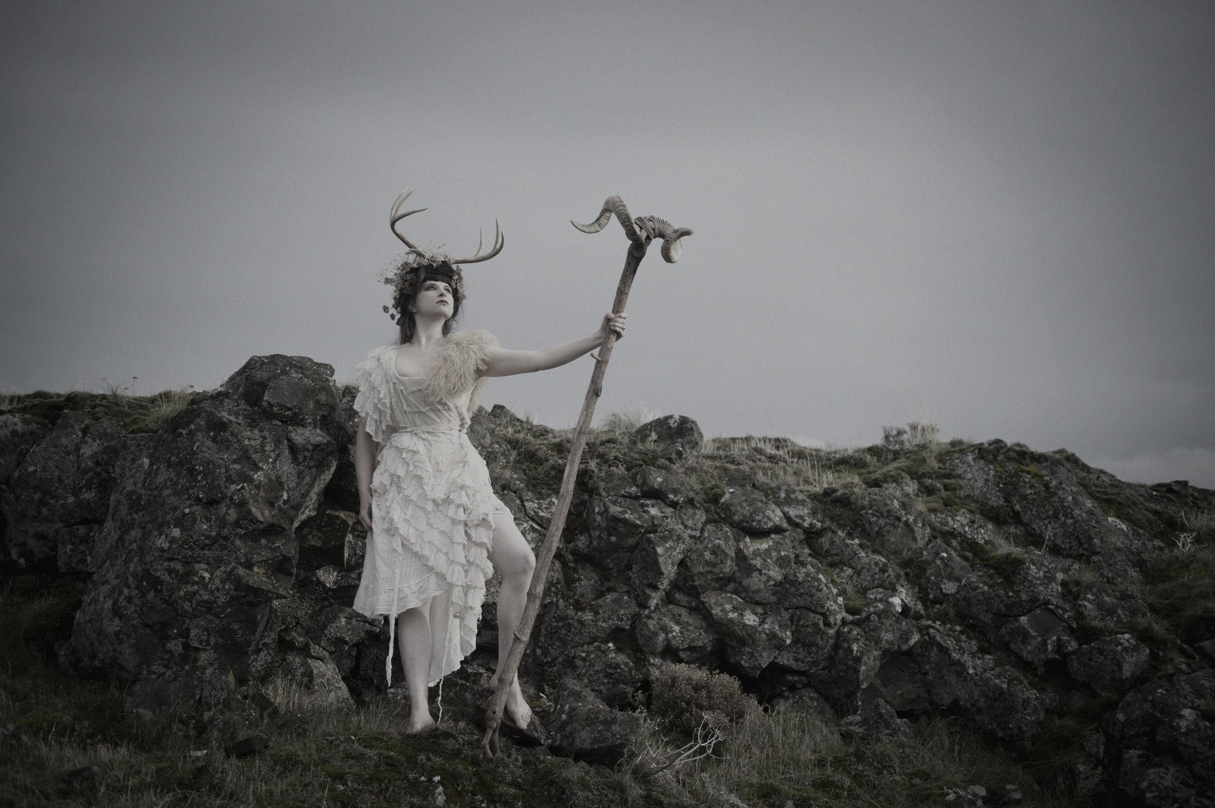 XXIII. ILANA HAMILTON - American writer, heathen, and artist (Kertoa Kalevala). August 2019.