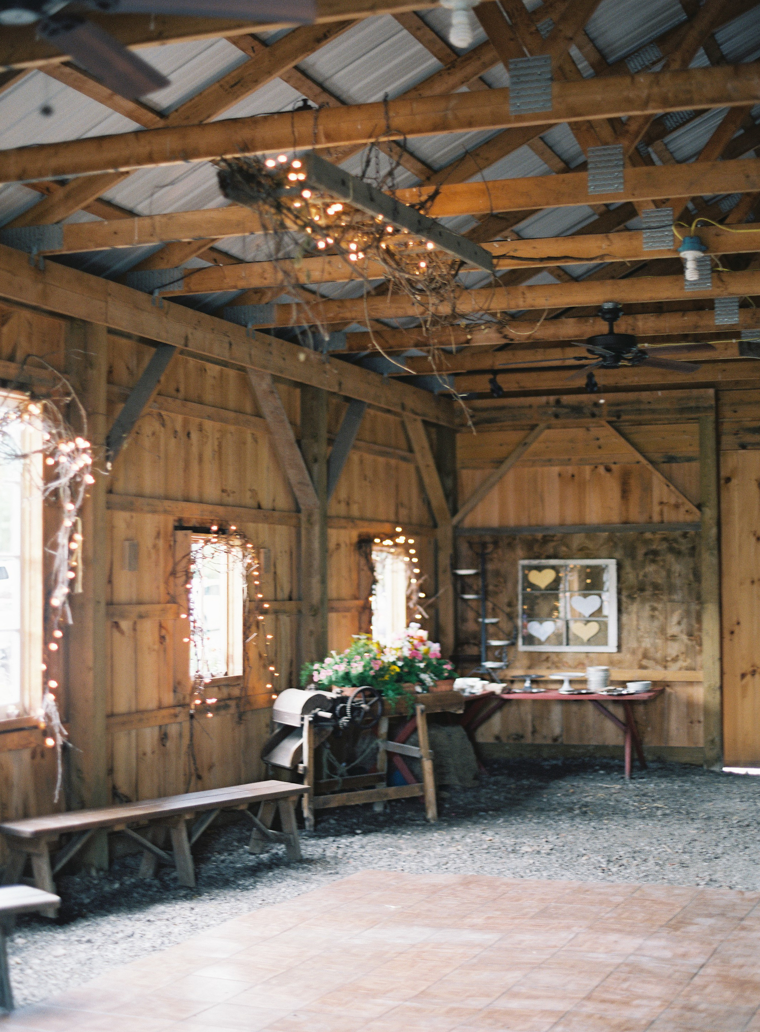 Our barn event space