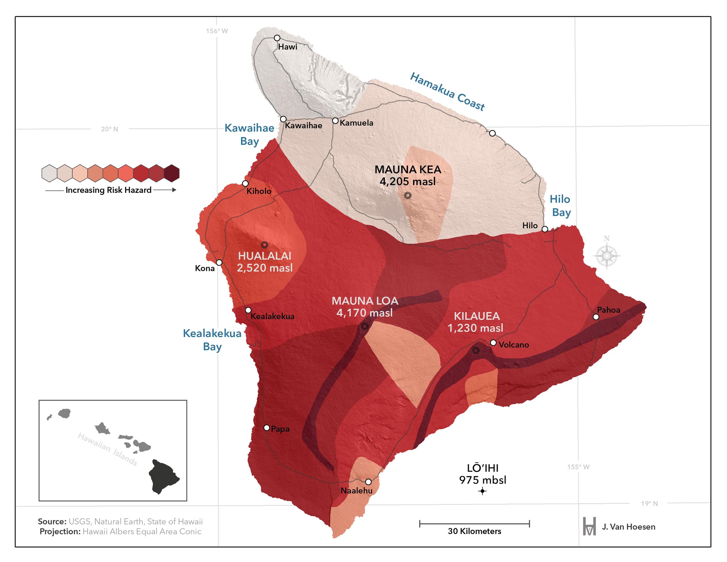 Hawaii Lava Hazards