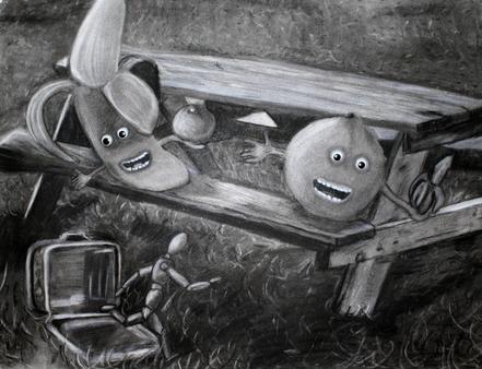 """Cannibalistic Picnic"" – Charcoal (2010)"