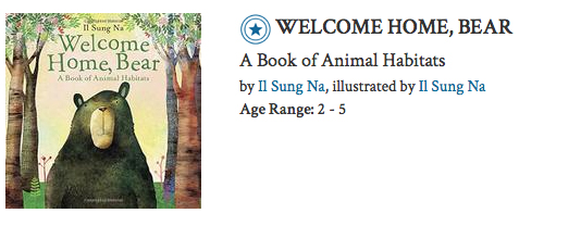 To view the full review https://www.kirkusreviews.com/book-reviews/il-sung-na-2/welcome-home-bear/