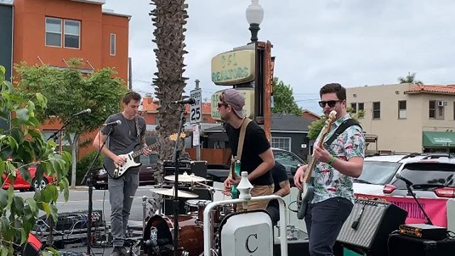 Posted this same clip to @cherryroadband's page but in my totally unbiased opinion, it's 🔥 enough to post again here.  Really can't wait to share new music with everyone.  Also, thanks @vvzarey , @sdmusicleague, @artaroundadams, and @thelocalpyle for a great time and way too much free 🍺 for this lifetime.  #sandiegomusic #lanterña #cherryroad #tworock #fender
