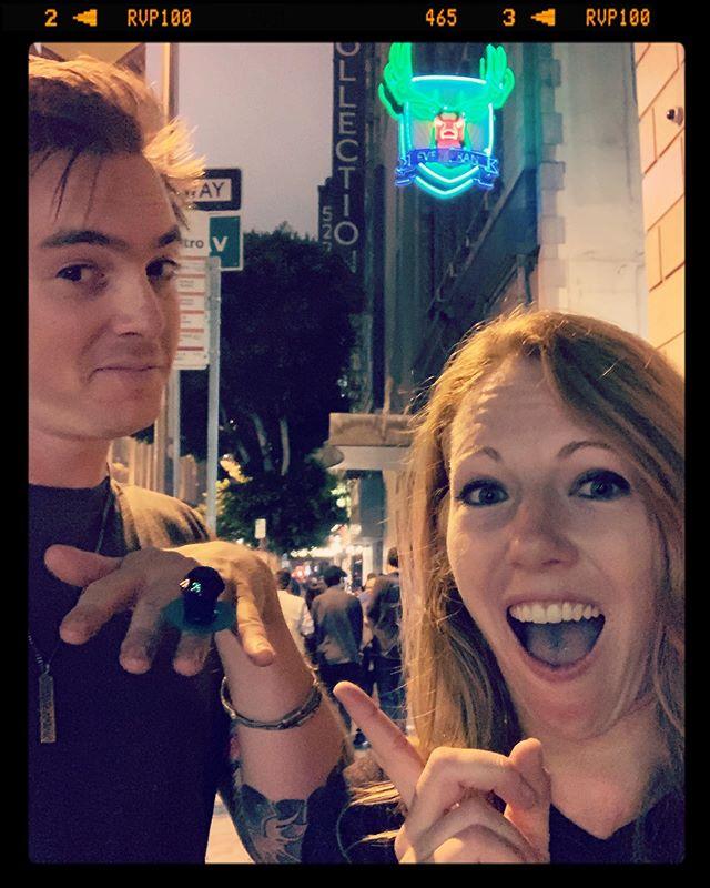 I said YES!!! #mygirl #ringpop #ringpopproposal @ringpopofficial @sevengrandla