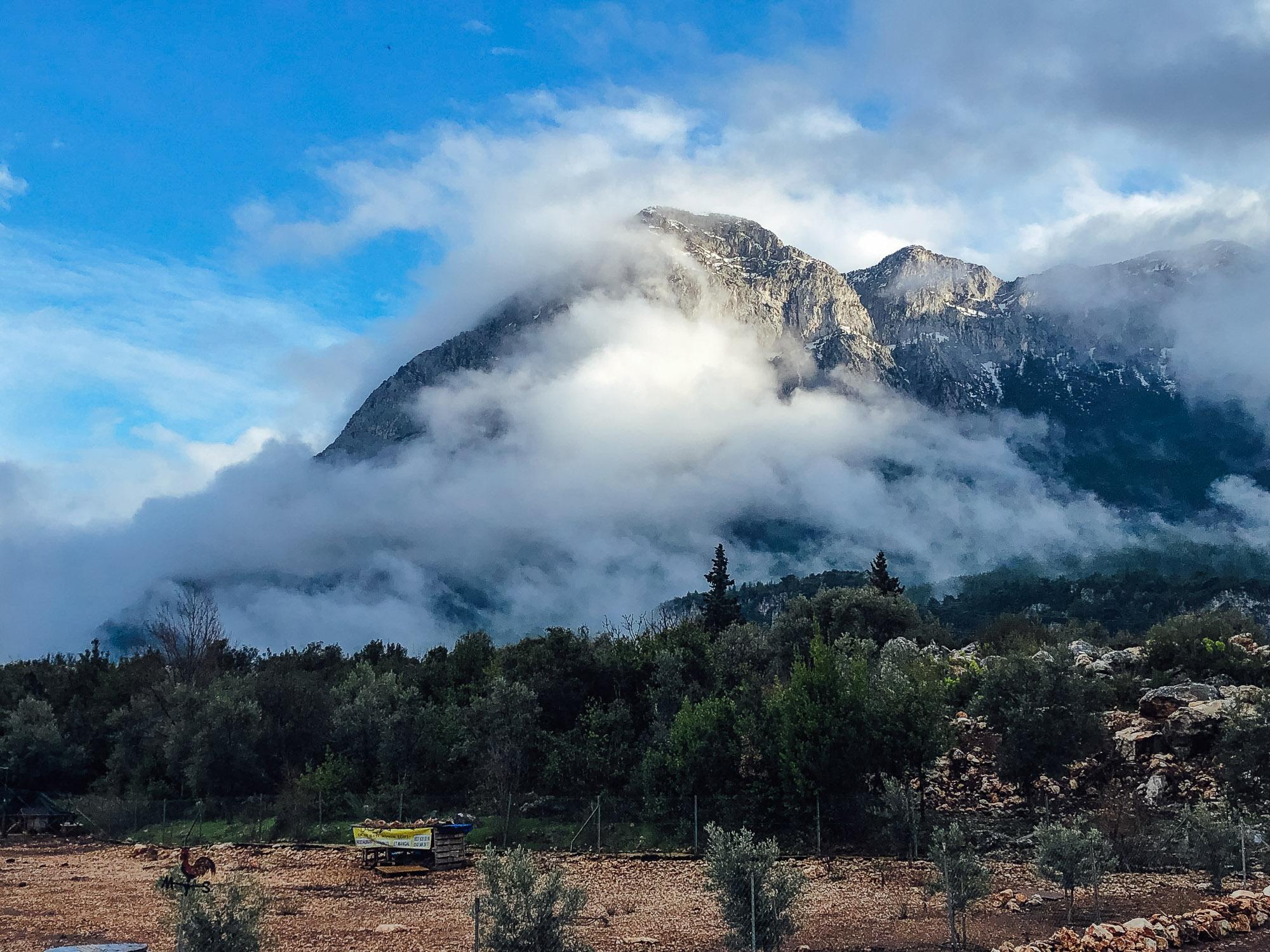 Mountains above Geyikbayiri.