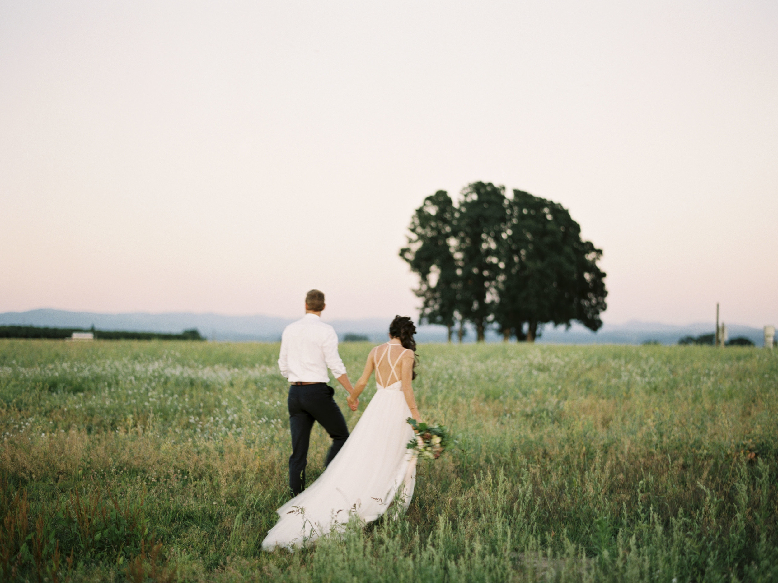 Wooden Shoe Tulip Farm Wedding, Oregon Fine Art Wedding Photographer Amanda Lenhardt