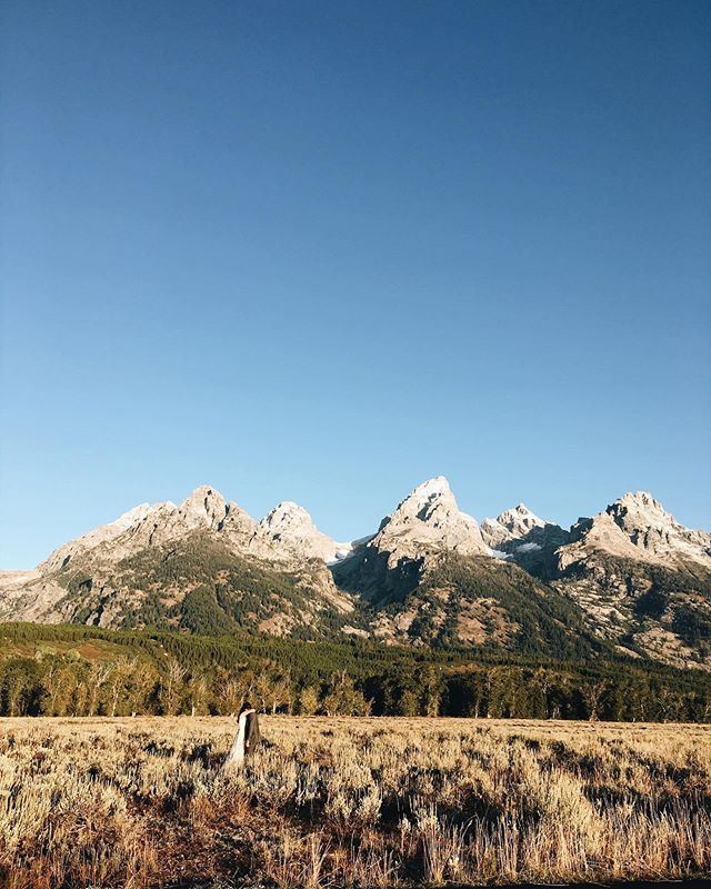 I'm home from a beautiful week out near the Tetons to celebrate Hannah and Noah. I knew it was going to be beautiful but pictures don't do this place justice.