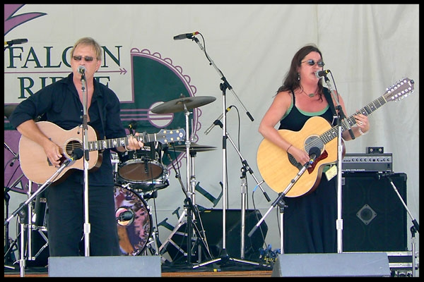 at Falcon Ridge Folk Festival