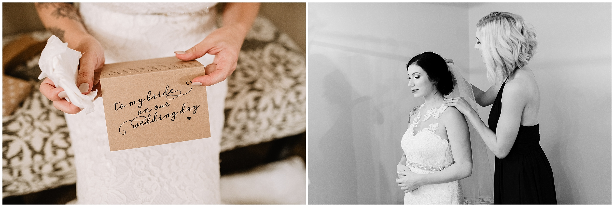 bridal gown bridal dress wedding dress portrait details lace beading bridesmaid hair black and white black&white getting ready