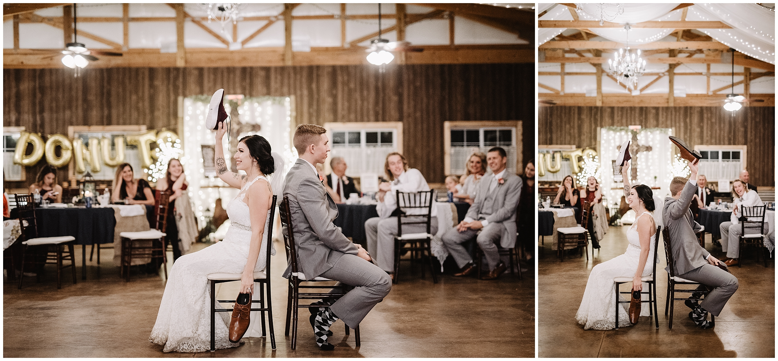 oklahoma wedding photographer floral flowers bouquet bridal letter bride groom rustic timbers viola kansas ceremony shoe game