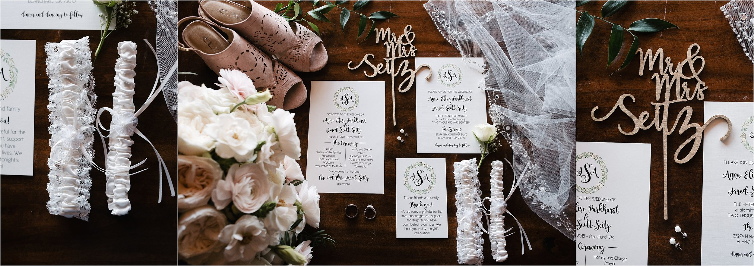 oklahoma wedding photographer invitations stationary rings borrowed blue wedding decor