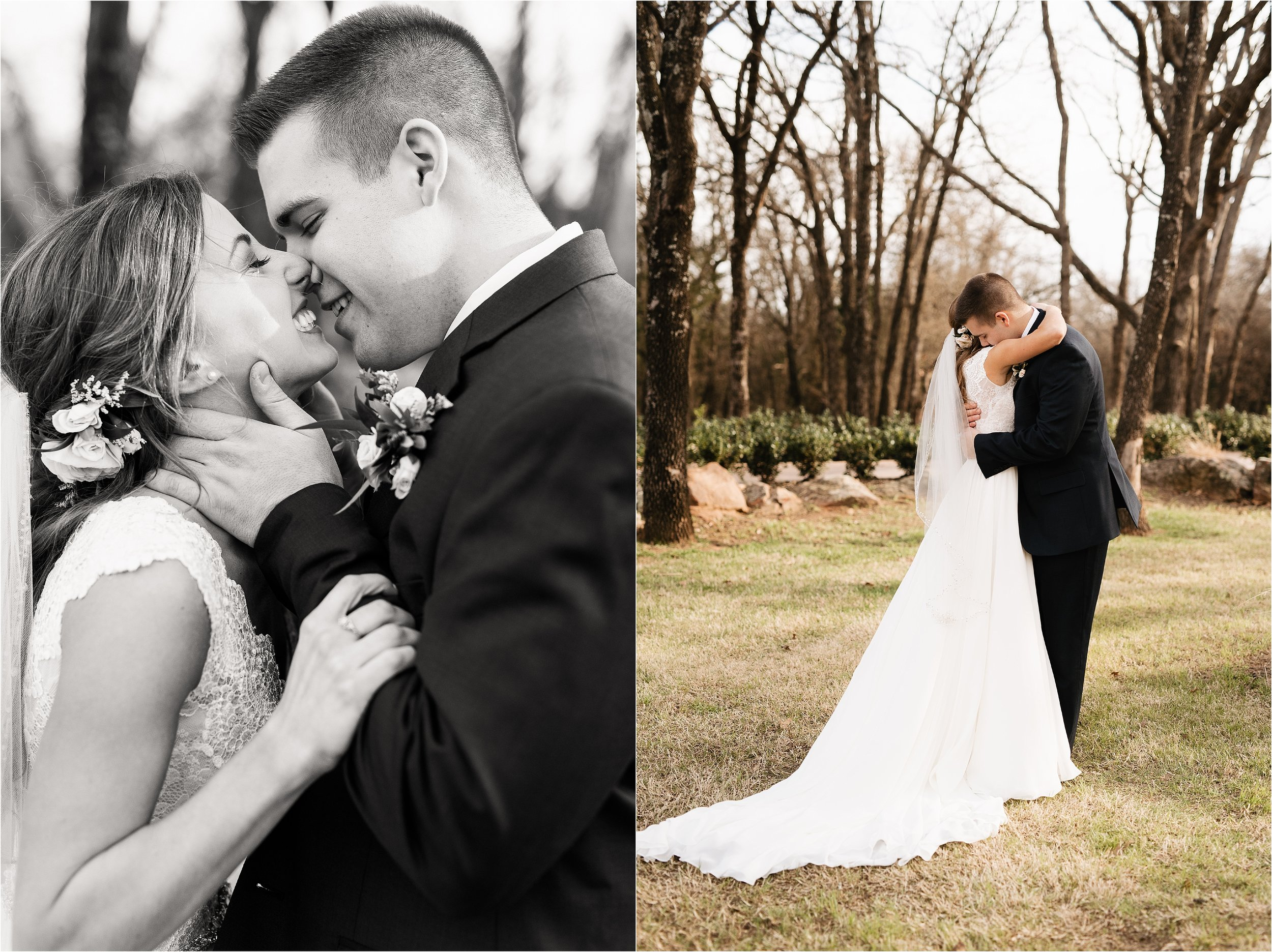oklahoma wedding photography bride groom wedding day sweet bridal bouquet wedding flowers florals black white black&white