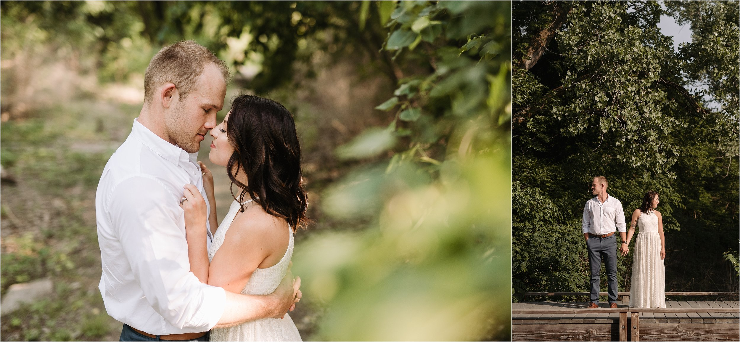 anniversary photos session oklahoma wedding photographer outdoors fall edmond okc wichita kansas norman wedding album nature outdoors white dress engagement