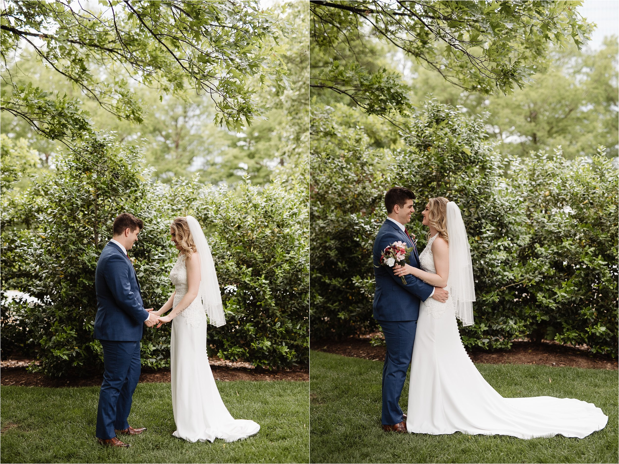 Myriad Gardens Wedding Oklahoma City