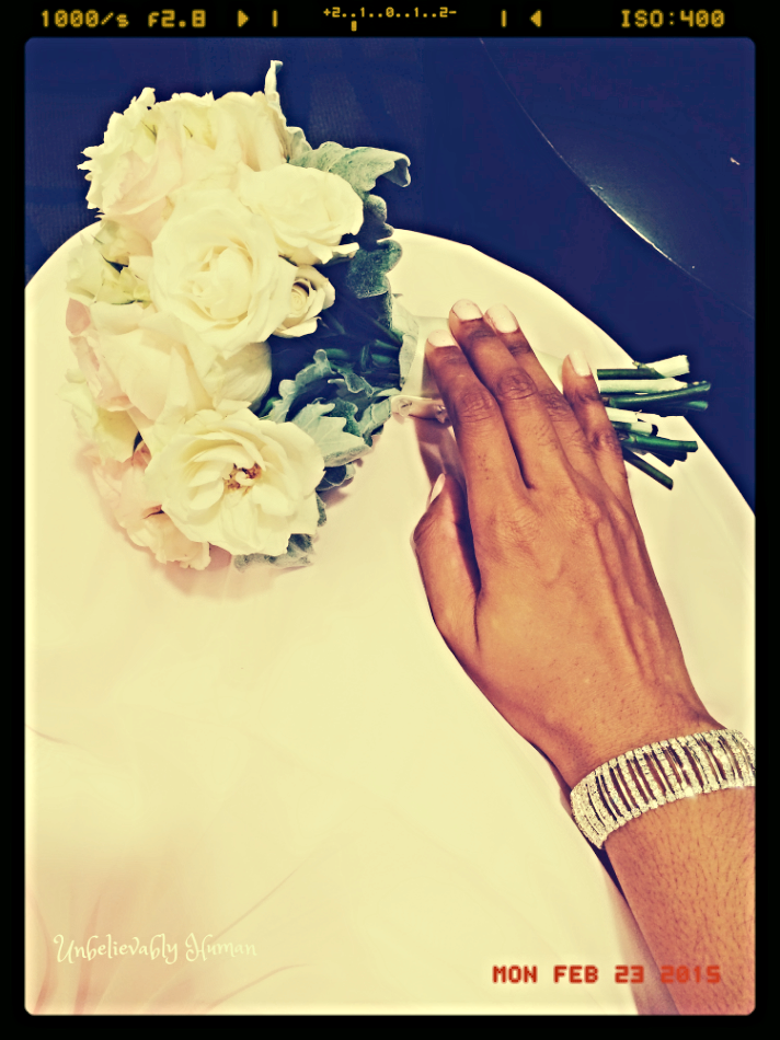 My Bouquet! Wedding Colors: Blush and Gray! Gorgeous!