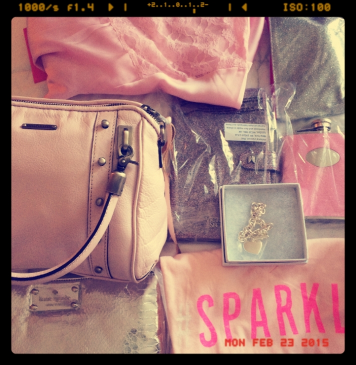 Ma Extremely thoughtful MOH gifts from my sweetie pie thoughtful BESTEST! I was touched!