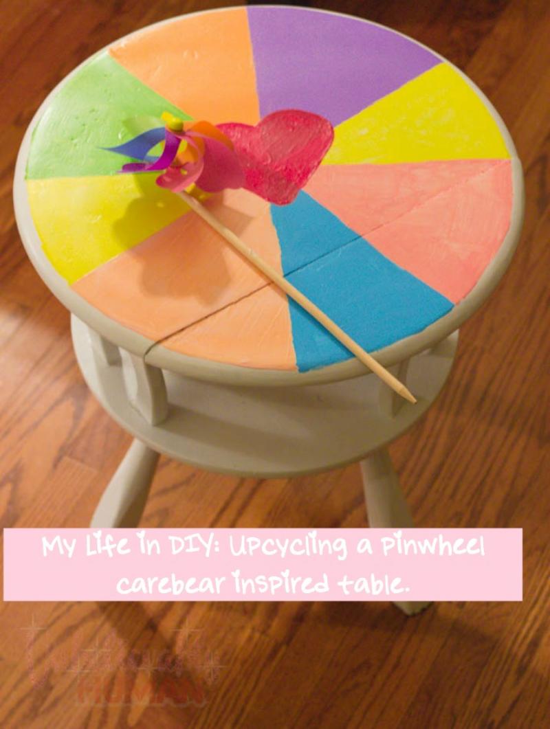 pinwheel DIY table
