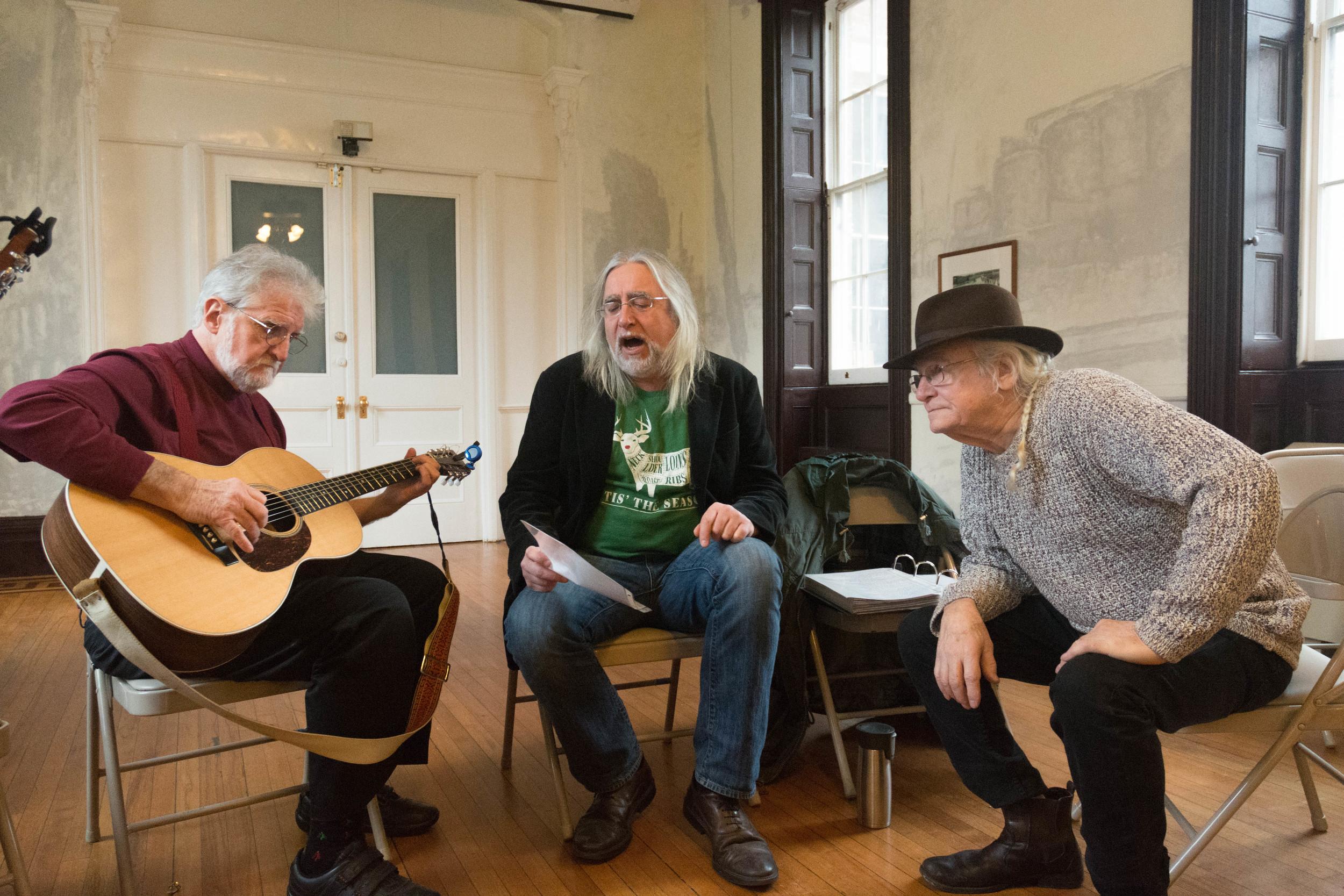 Bob, Alan and Frank
