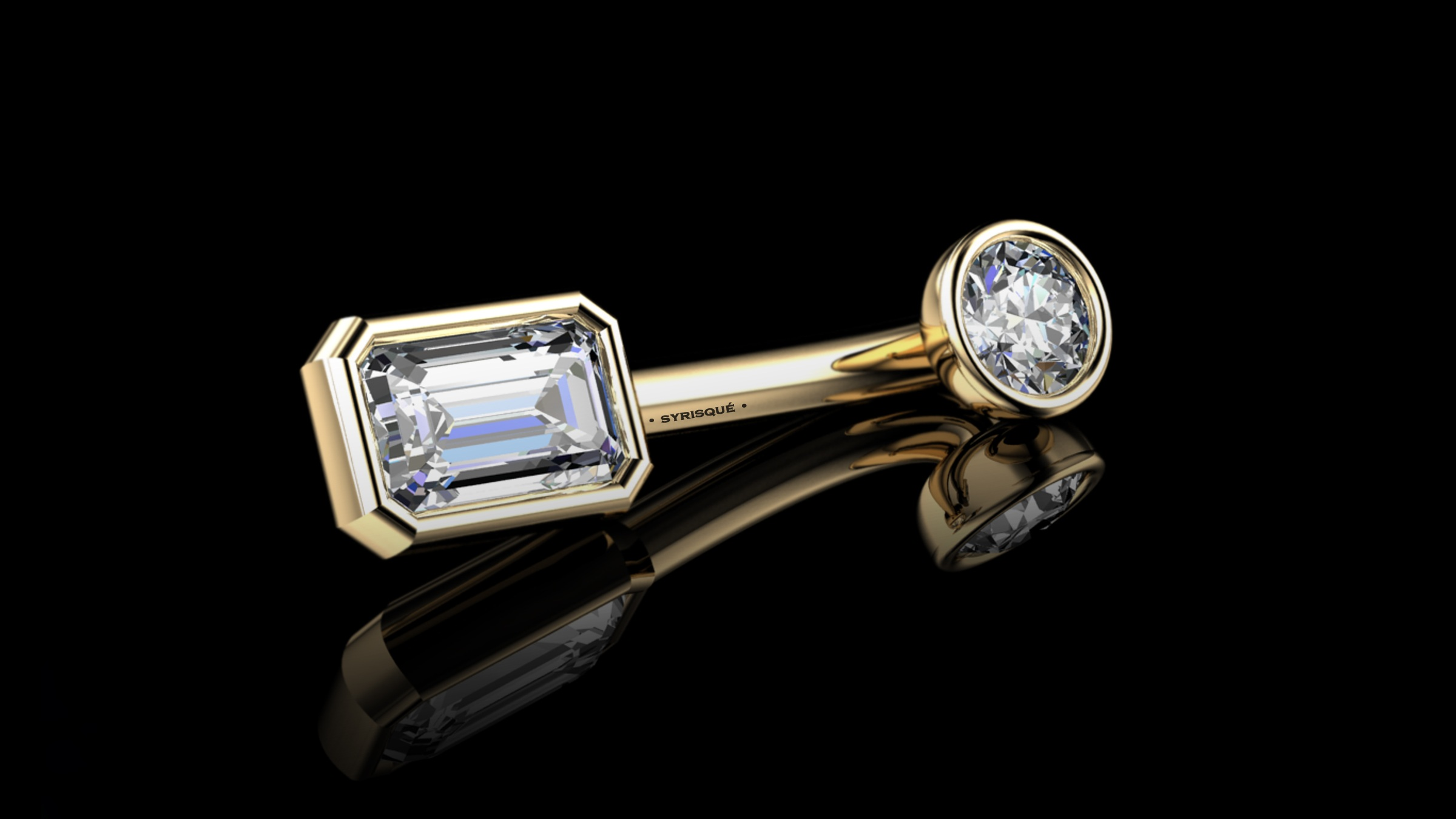 • Custom V.C.H • Natural Diamonds & 18K Gold