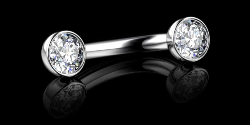 Diamond V.C.H Piercing