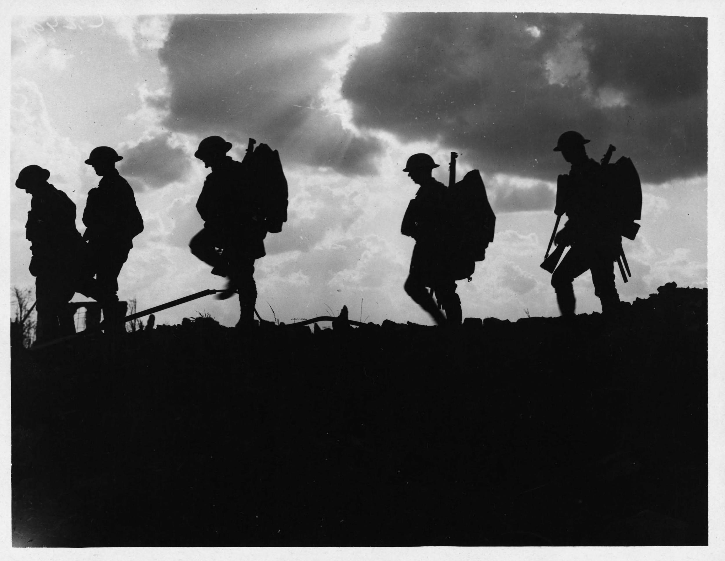 NLS_Haig_-_Troops_moving_up_at_eventide_-_men_of_a_Yorkshire_regiment_on_the_march.jpg