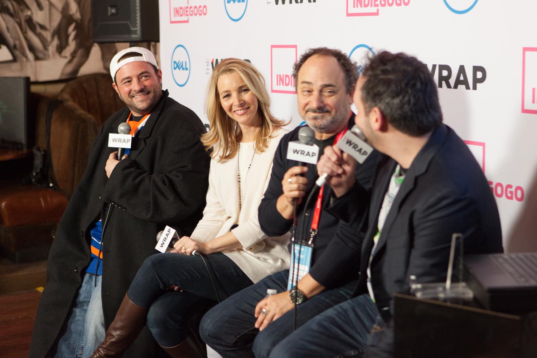 Sundance Indiegogo Lounge at Park City Live. January 23, 2015