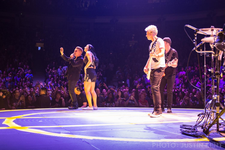 Melissa on stage
