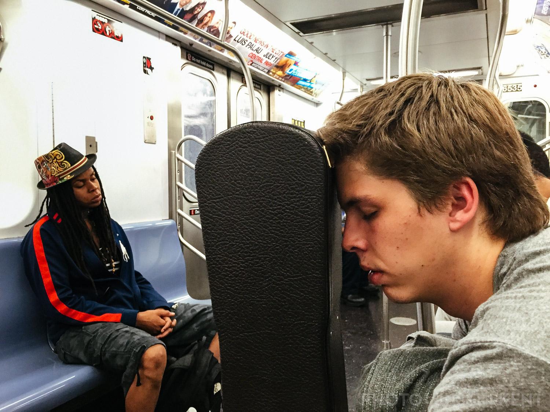 Subway back to Brooklyn