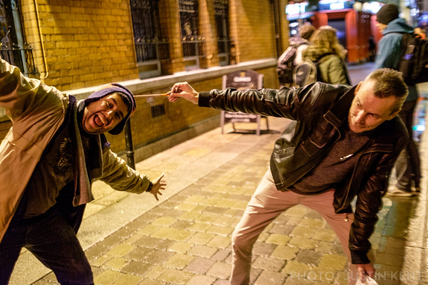Martin drags Jorge out into Dublin