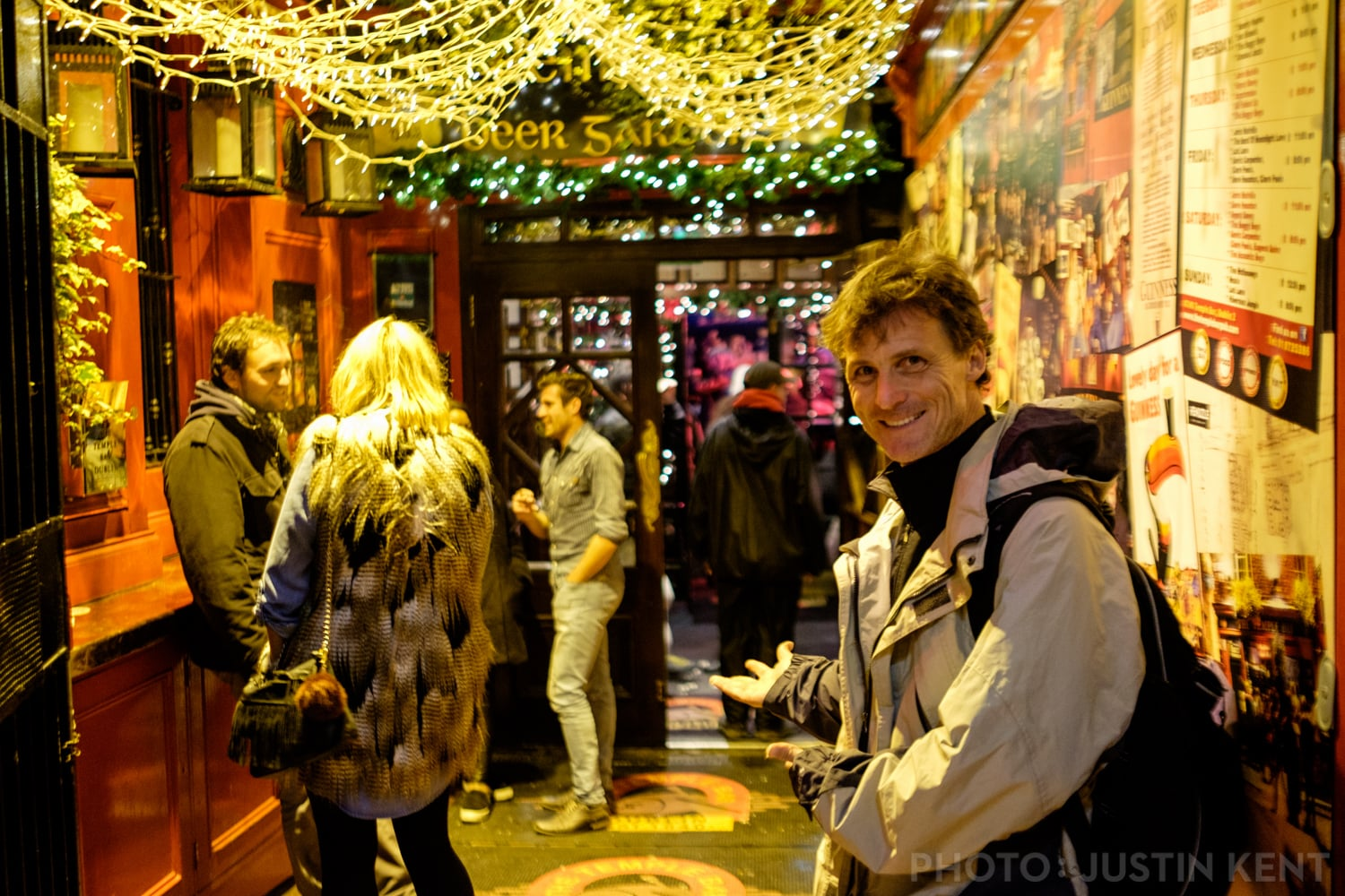 Lead the way to Temple Bar