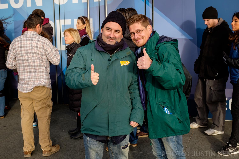 Jose and Fernando of U2 Valencia