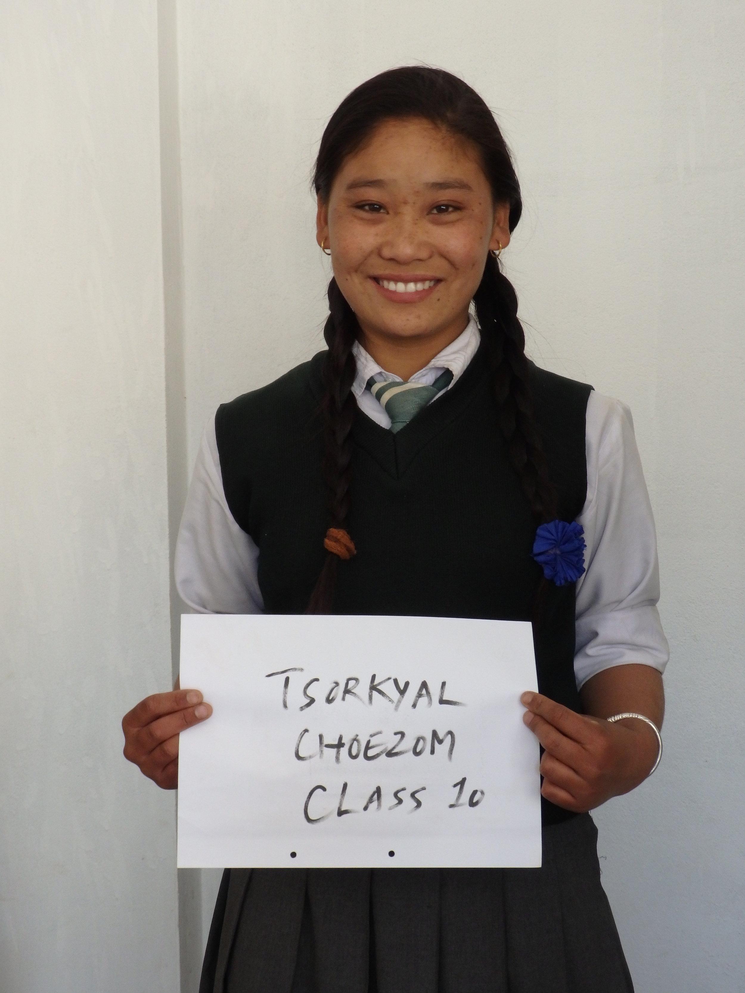 Tsorkyal Choezom Lama