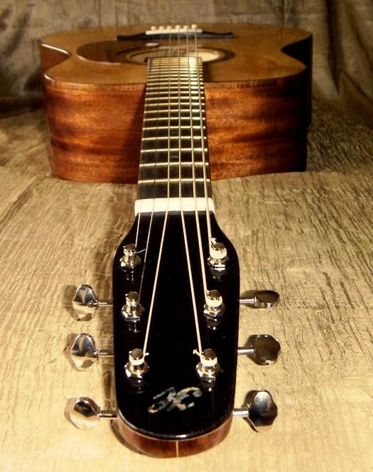 Hawkins Dreadnought Guitar Mahogany