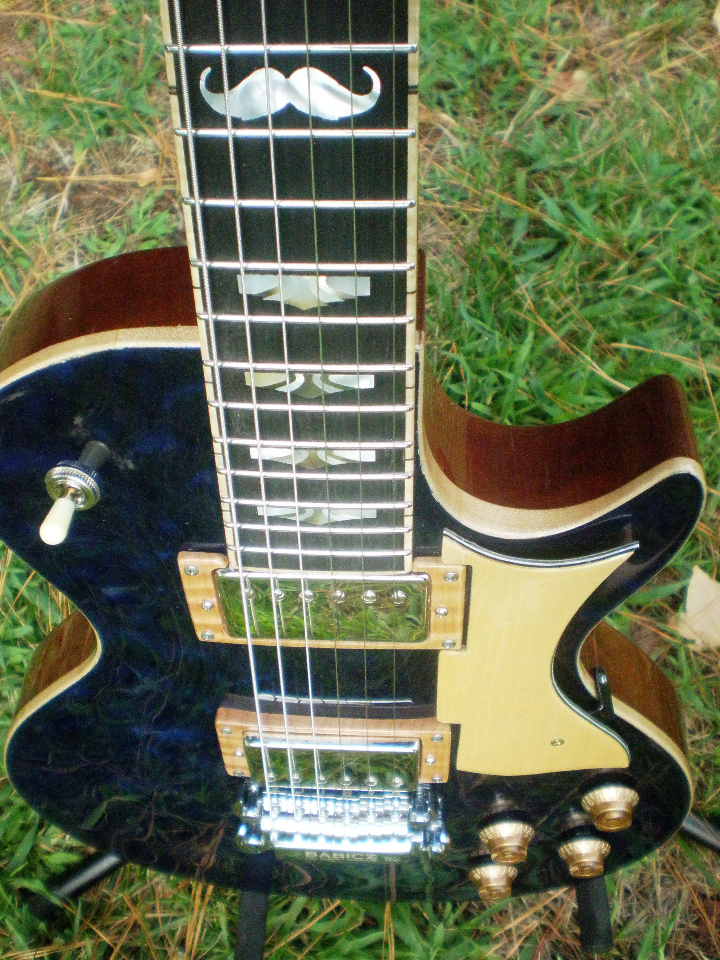 Hawkins Electric Guitar Stache