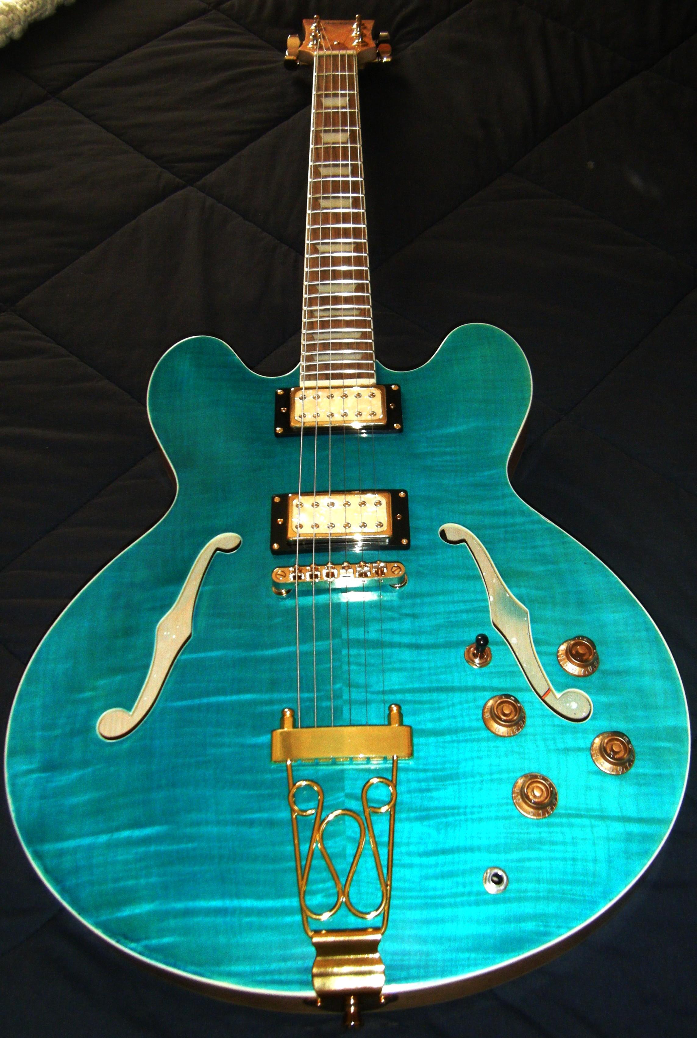 Hawkins Electric Guitar f hole