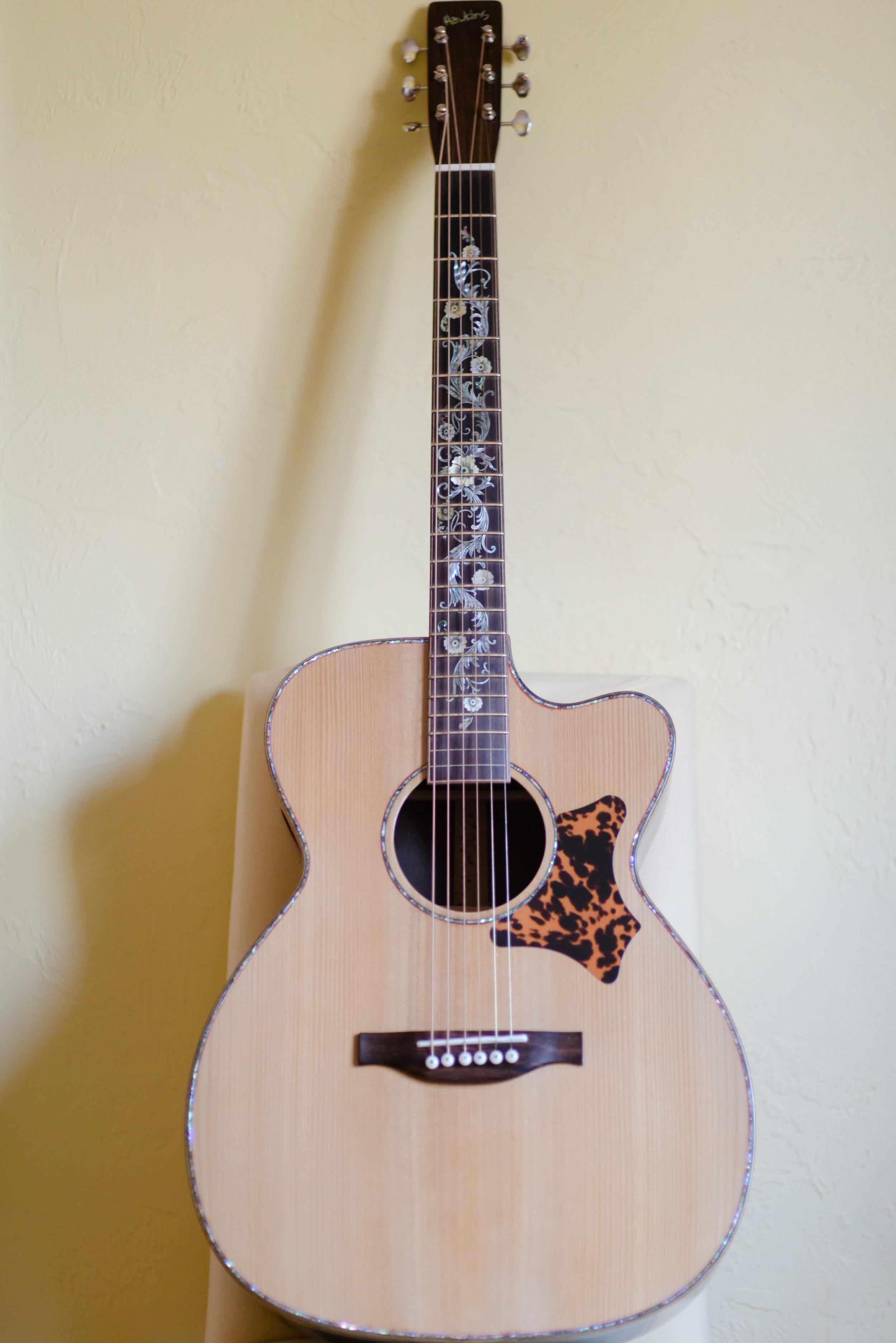 Hawkins Guitar Brazilian Rosewood Bridge